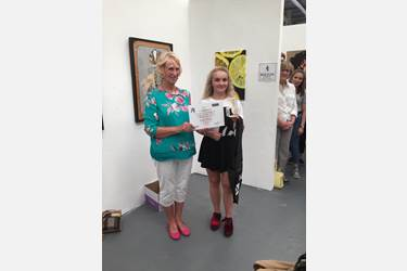 Bolton Art Exhibition Antonia Jameson prize presentation