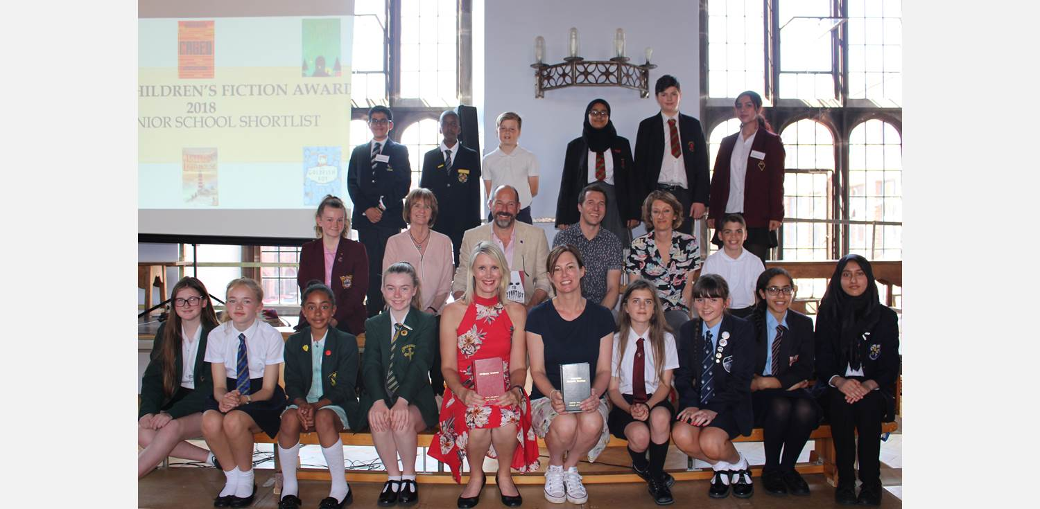 BCFA authors and local pupils