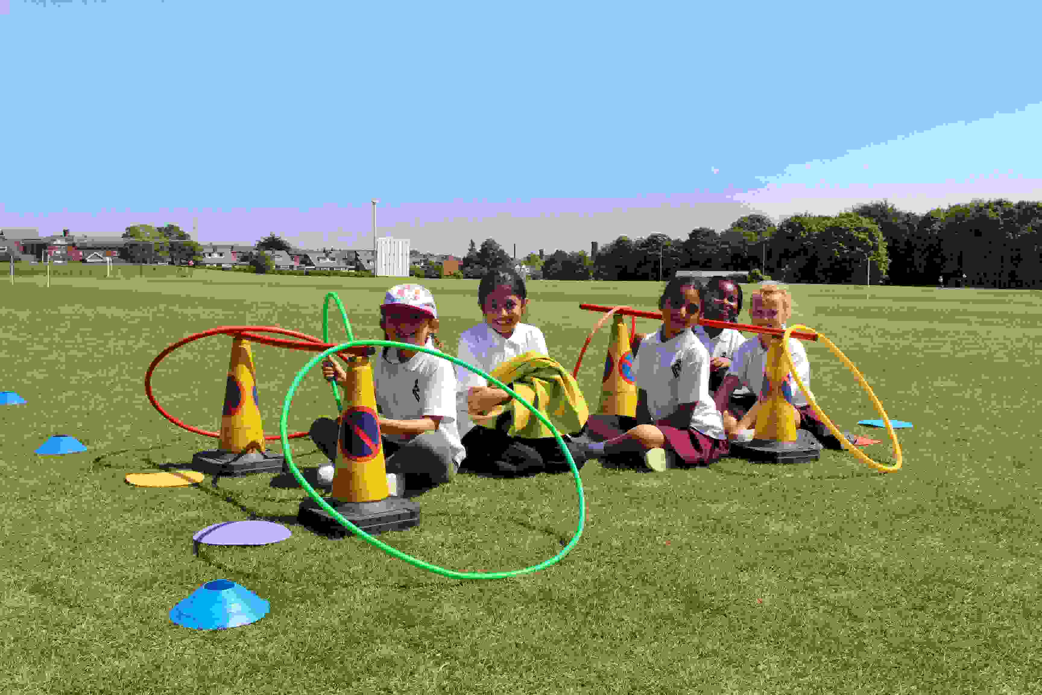 Outdoor Learning Y3 space exploration game