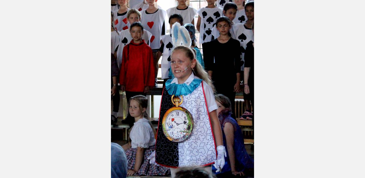 Alice the Musical White Rabbit
