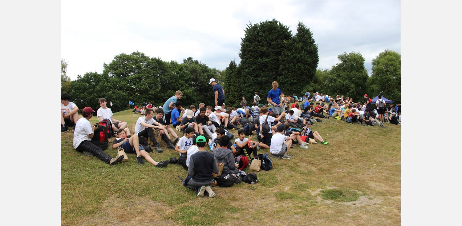 Sponsored 10 mile walk lunch (3)