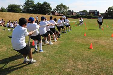 Sports Day Tug of War