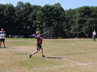 Sports Day javelin