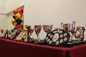 Celebration Assembly cups and trophies