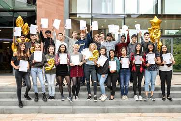 GCSE Results Day group KKP-000541