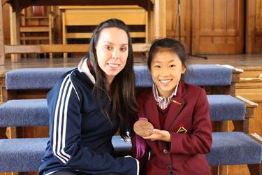 GGG Keynote Speakers Beth Tweddle & Dinburgh gymnast