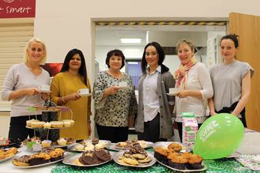 Macmillan Coffee Morning Jr Girls PA