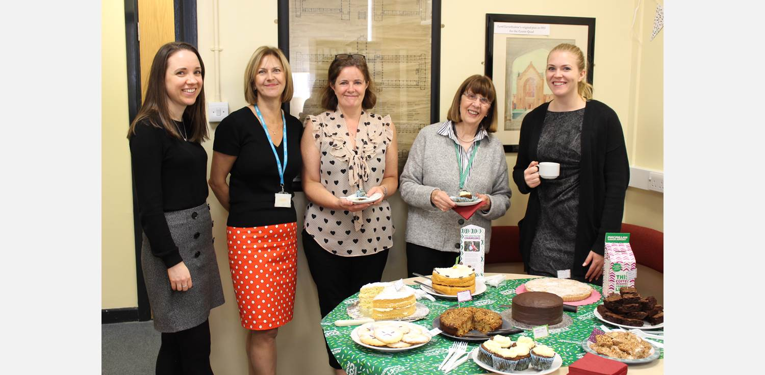 Macmillan Coffee Morning Development