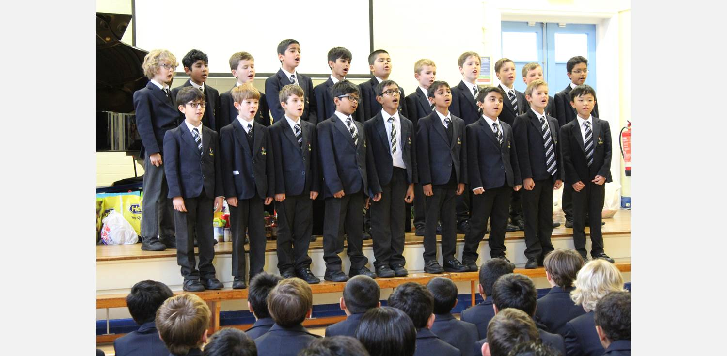 Harvest Assembly choir