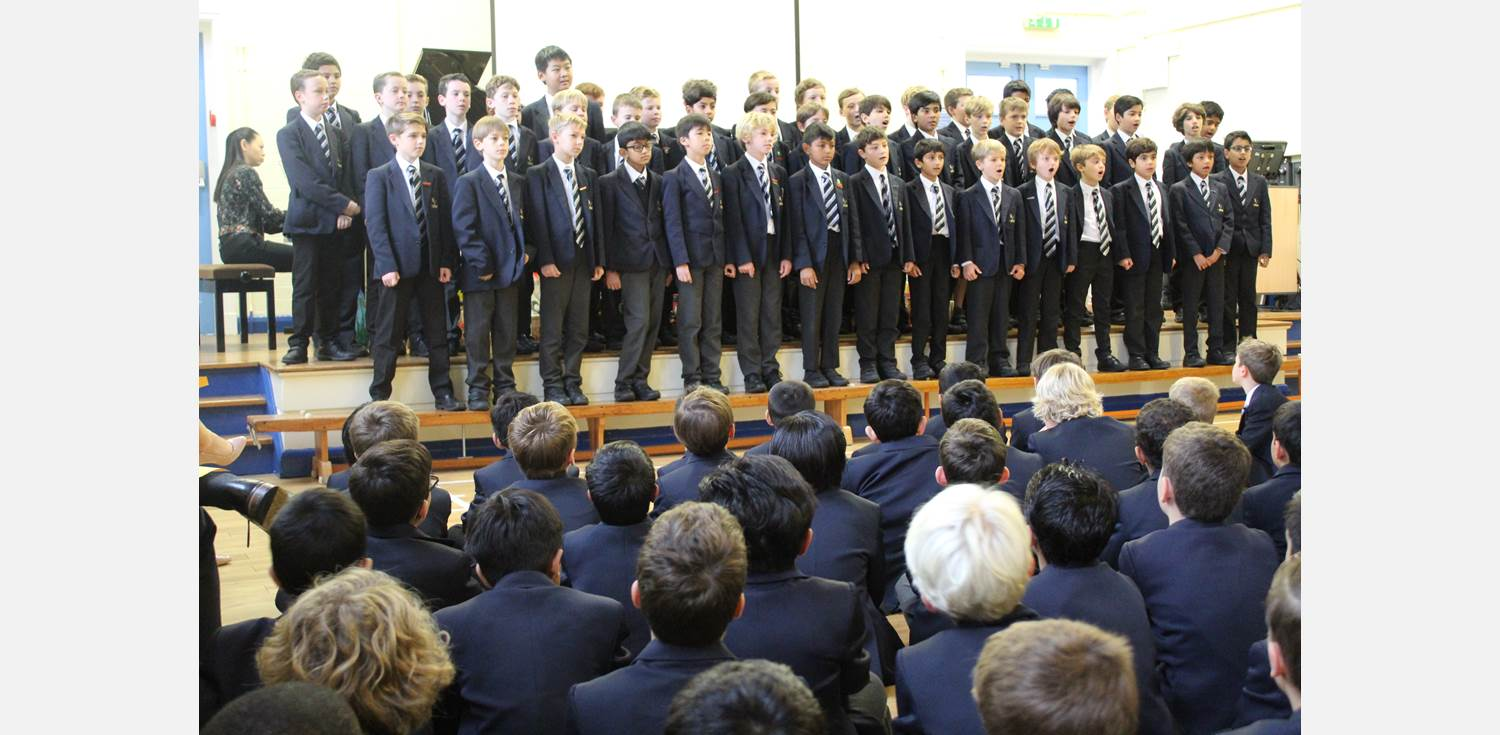 Harvest Assembly Choir (1)