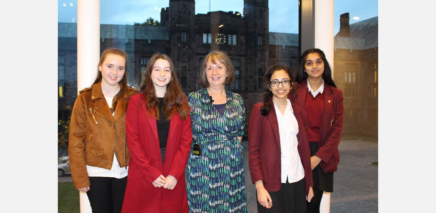 Dr Joyce Tyldesley Old Girl Nefertiti lecture