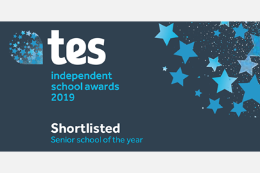 b18d0b9172c School Shortlisted for TES Senior School of the Year Award