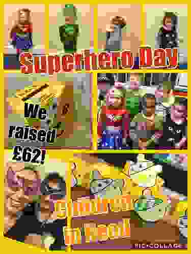 Nursery Class Superhero Day Children in Need