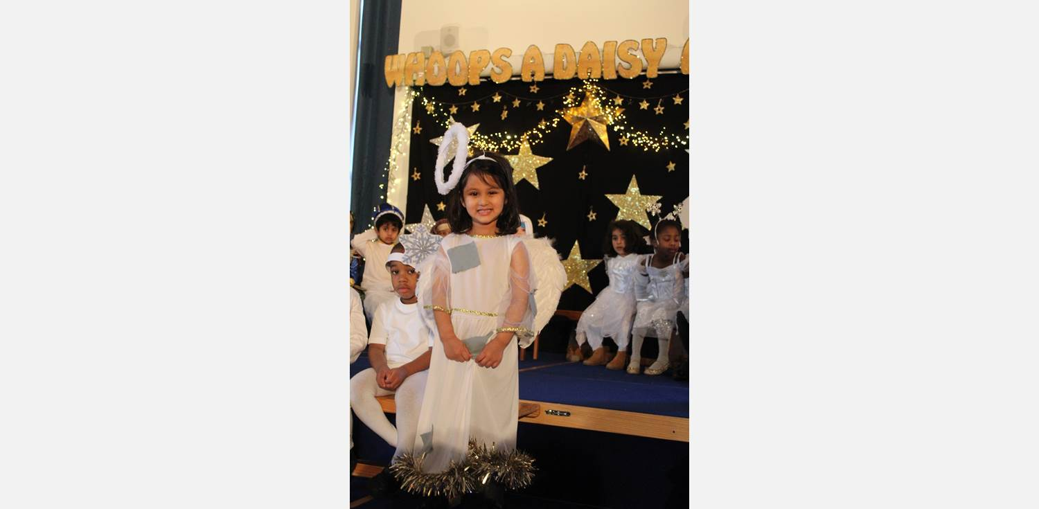 Nursery Nativity Whoops A Daisy Angel
