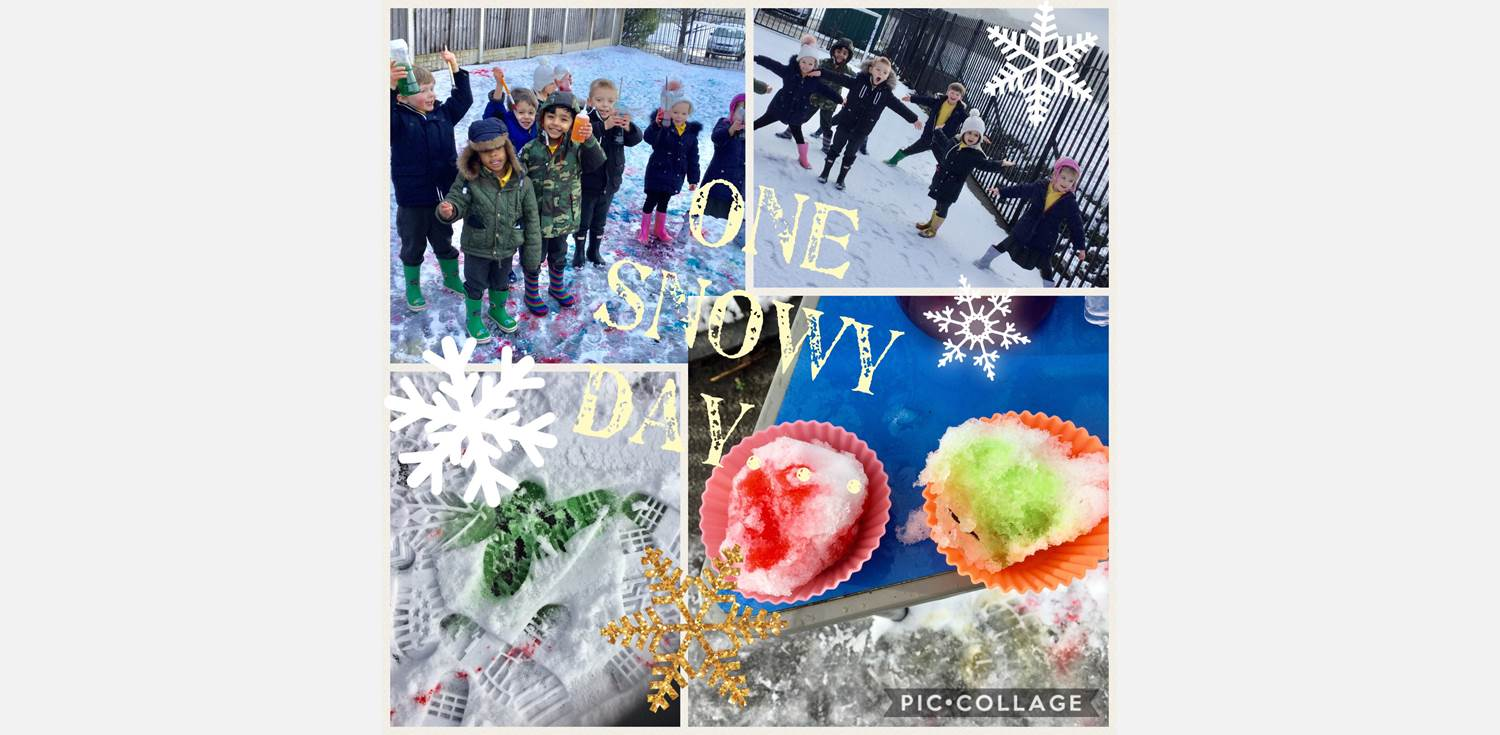 Nursery Class enjoy the snow