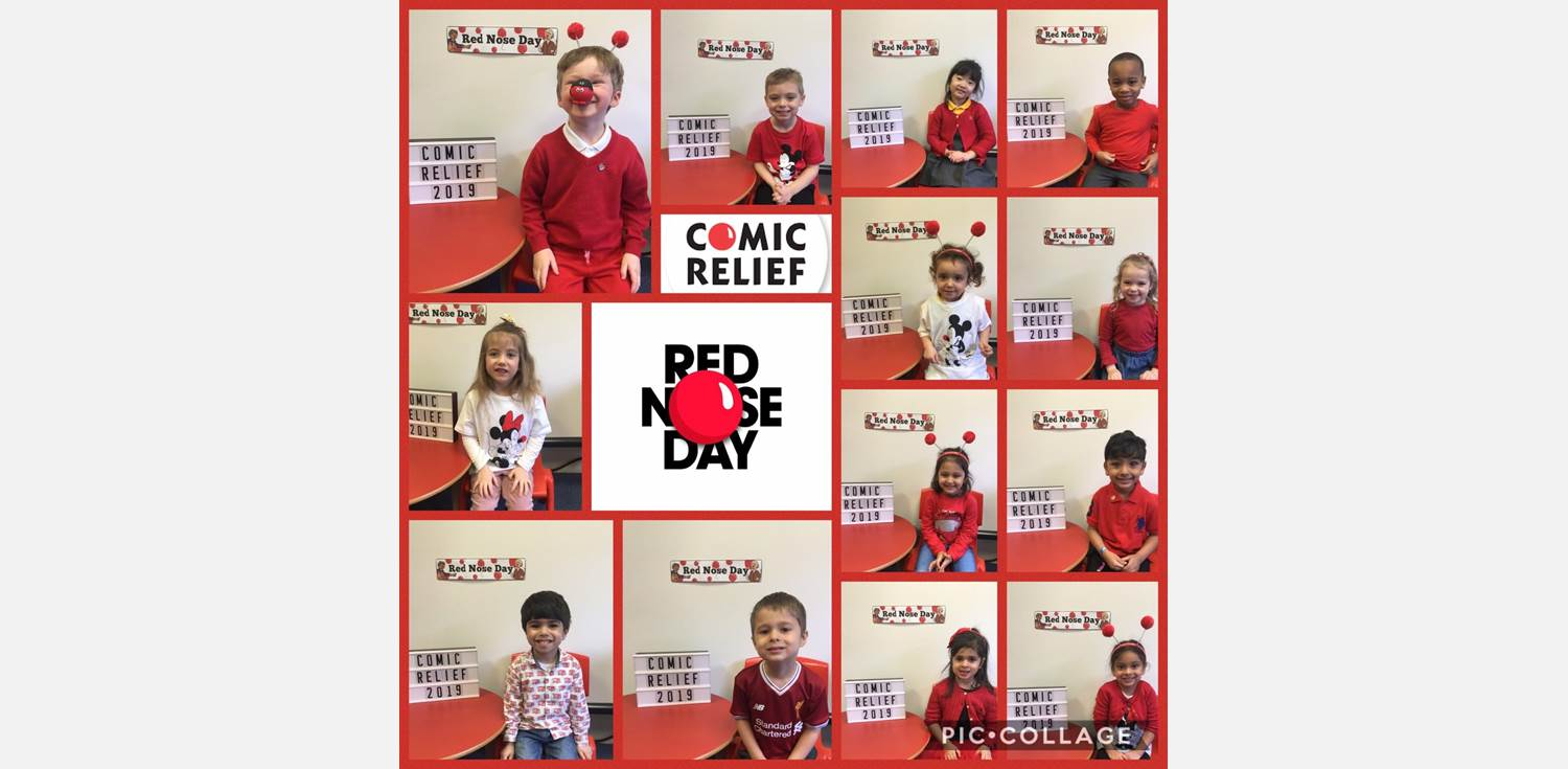 Nursery Class Red Nose Day 2019
