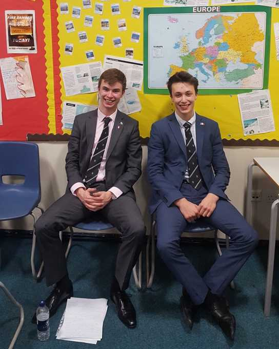 A level debating Competition - students now studying French at uni.jpg