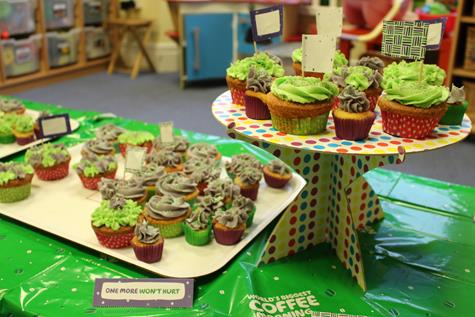 Macmillan Coffee Morning NC cakes