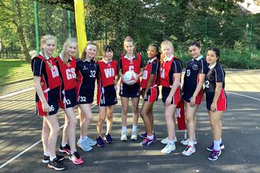Silver GSA Netball Tournament Trophy Comp