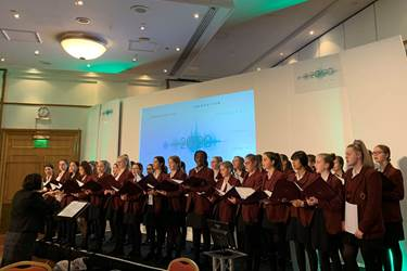 Middle Sch Choir at GSA Conference (1)