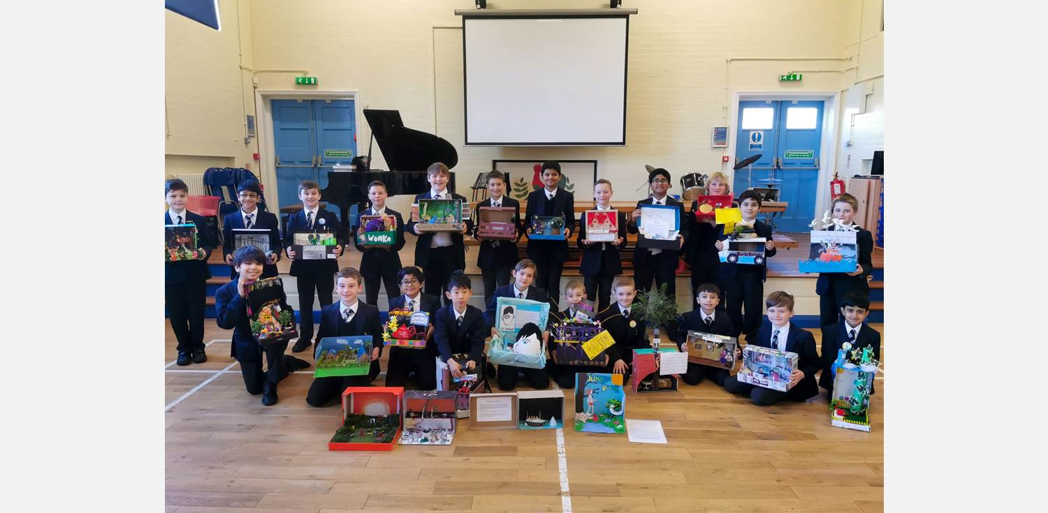 World Book Day 2020 Shoebox Stories Competition Winners