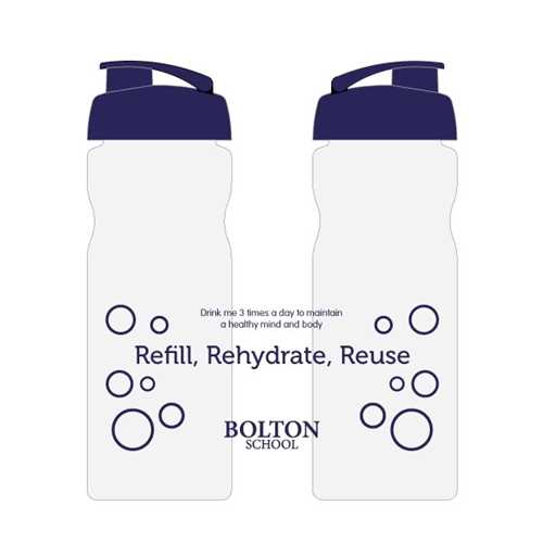Re-usable Bolton School Water Bottle