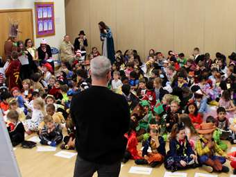 World Book Day Illustrator assembly