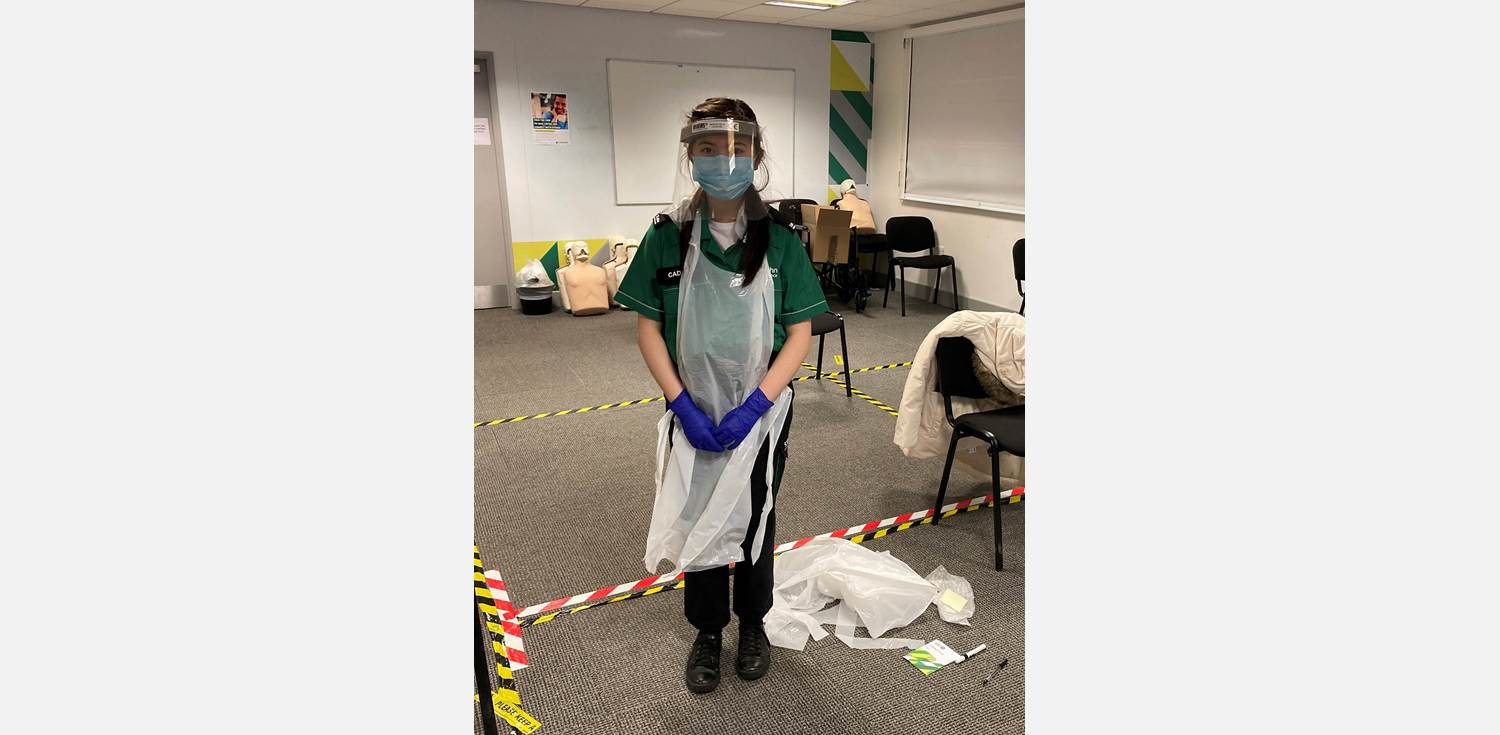 Victoria Wong Covid vaccination volunteer PPE