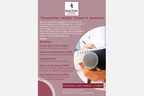 Perspectives Careers in Journalism Poster - small